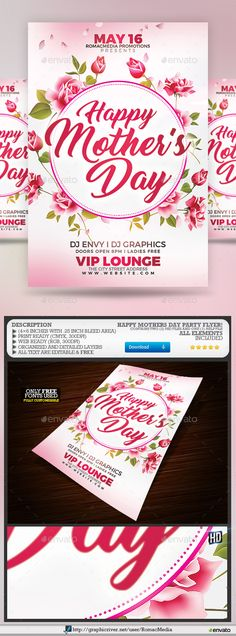 MotherS Day Flyer  Flyer Template