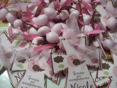 Decenarios de almendras de chocolate para recuerdo ,#bautismo #baptism…