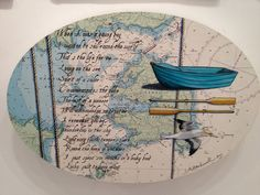 Leaky Boat $769 by Justine Hawksworth. Available at Mana NZ Created Art & Design in Parnell Art Programs, Map Art, Home Art, Arts And Crafts, Pencil, Boat, Paintings, Models, Artist