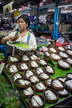 Bangkok Market by josgoh _Thailand Laos, Thailand Travel, Asia Travel, Bangkok Market, Tasty Thai, Street Food Market, World Street, Traditional Market, Fresh Market