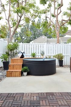 27 our new stock tank swimming pool in our sloped yard 00003 Small Backyard Design, Backyard Patio Designs, Small Backyard Landscaping, Backyard Ideas, Pool For Small Backyard, Small Yard Pools, Pool Ideas, Garden Design, Stock Pools