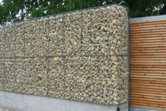 gabion fence and gate