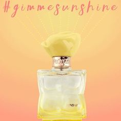 Introducing #FLOWERBeauty's newest fragrance: SUNSHINE ☀️It's the fragrance that truly captures liquid happiness in a bottle with bright citrus notes, bouquet of yellow peony entwined with golden amber. #gimmesunshine