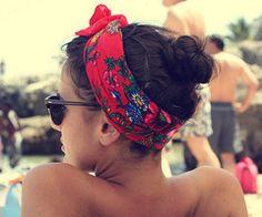 hair tie for a beach day