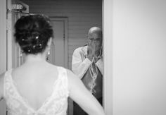 Father of the Bride Photo.  Photo: Jackie Lucas at Little Acorn Photography // Featured: TheKnot.com
