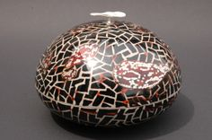 From heaven 5-7  Japanese lacquer (urushi) on copper, silver 925