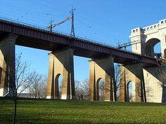 Hell Gate Bridge in Astoria