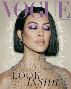 Vogue Covers, Vogue Magazine Covers, Fashion Magazine Cover, Kourtney Kardashian, High Fashion Photography, Glamour Photography, Lifestyle Photography, Editorial Photography, Mode Vintage