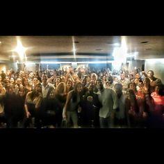 #GraciasTotales al público que eligió #AmoresDeBarra para celebrar #HOY #Domingo #14Febrero #diadesanvalentin en el Hotel @eurobuilding Ccs. Una súper función gracias al público #AGOTADA #soldout .