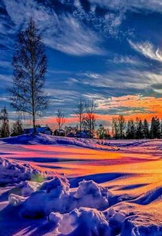 Find images and videos about nature, sunset and landscape on We Heart It - the app to get lost in what you love. Winter Pictures, Nature Pictures, Cool Pictures, Beautiful Pictures, Landscape Photography Tips, Winter Photography, Nature Photography, Photography Guide, Scenic Photography