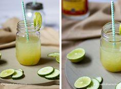 Rezept   Gin mit Limetten-Gurke-Limonade ...  Rezept   Gin mi...
