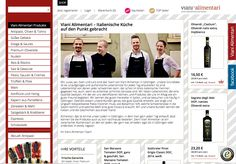Für den Feinkosthändler Viani Alimentari haben wir einen schicken #xtCommerce Shop im #Pinterest-Style erstellt: http://www.blackbit.de/tagebuch/xt-commerce-shop-viani-alimentari