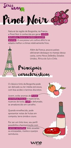 Born in the Burgundy region of France, Pinot Noir is con … – Wine Venues Pinot Noir Wine, Guide Vin, Wine Guide, Wine Recipes, Gourmet Recipes, Best Wine Clubs, Wine House, Red Wine Glasses, Meals