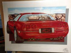 Rare Sealed HUGO PRADO 1990 Corvette ZR-1 Limited by SandysScores