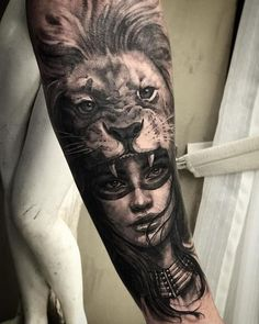 Lion Head Tattoos, Forarm Tattoos, Wolf Tattoos, Leg Tattoos, Body Art Tattoos, Mini Tattoos, Lion Tattoo Sleeves, Wolf Tattoo Sleeve, Tattoo Sleeve Designs