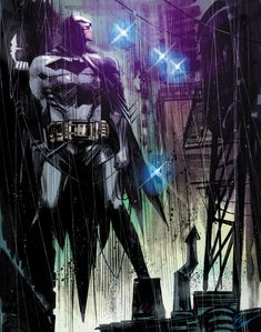 Batman - line art: Sean Murphy, color: Josh Jensen