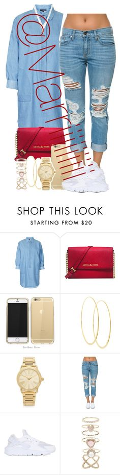 """""""Formation tour pick 1 for my moms outfit"""" by marriiiiiiiii on Polyvore featuring Topshop, Michael Kors, Lana, Pistola, NIKE, Accessorize and LC Lauren Conrad"""