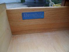 Charming Broyhill Premier Label From Sculptra Dresser
