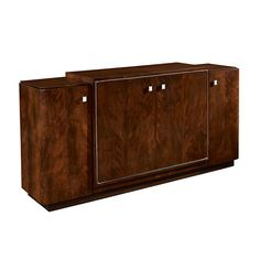 Duke Low Media Cabinet - Servers / Consoles - Furniture - Products - Ralph Lauren Home - RalphLaurenHome.com
