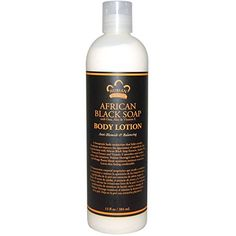 Nubian Heritage Body Lotion African Black Soap 13 fl oz 384 ml  2pc -- Want additional info? Click on the image.