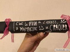 Fabriquer des crackers surprises pour les maîtresses | Ciloubidouille