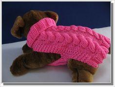 dog sweaters knitting patterns ile ilgili görsel sonucu