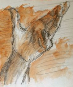 Buy The hand - Drawing - small size - artwork on paper - 16,5X20,5 cm, Pencil drawing by Fabienne Monestier on Artfinder. Discover thousands of other original paintings, prints, sculptures and photography from independent artists.