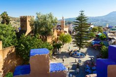 Start at the blue city of Chefchaouen for a hike through the Rif Mountains, Image by Ken Walsh / Photodisc / Getty