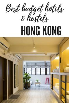 Travelling to Hong Kong, China soon? Here are the best budget hotels and hostels in Hong Kong for under £50 for two!