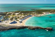 Island Paradise Aerial View — Avoya Travel Article: 'Exclusive Cruise Line Getaways: Private Islands' Norwegian Cruise Line, Cruise Vacation, Vacation Destinations, Cabana, Great Stirrup Cay Bahamas, Last Minute Cruises, Christmas Cruises, Royal Cruise, Cruise Reviews