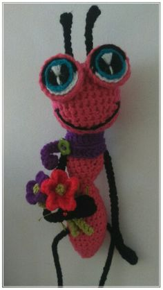 Adorable Crochet ant