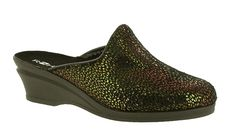 Rohde 2372 Ladies Wedge Heeled Mule Slipper - Robin Elt Shoes  http://www.robineltshoes.co.uk/store/search/brand/Rohde-Ladies/ #Autumn #Winter #AW13