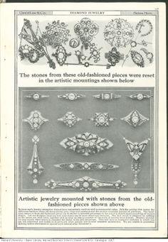 love this vintage jewelry ad, 1917 - Lenora Salazar Jewellery Advertising, Jewelry Ads, Art Deco Jewelry, Edwardian Jewelry, Antique Jewelry, Vintage Jewelry, Vintage Costume Jewelry, Vintage Costumes, Jewelry Editorial