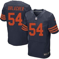 Men's Nike Chicago Bears #54 Brian Urlacher Limited 1940s Throwback Alternate Navy Blue Jersey  $69.99