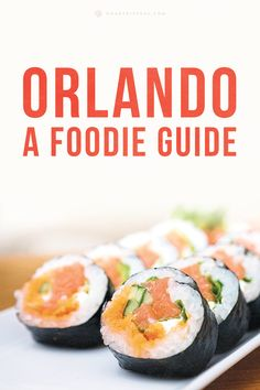 The five best restaurants in Orlando, Florida.