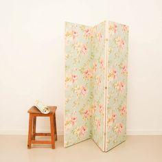 Antic&Chic. Decoración Vintage y Eco Chic: [DIY] Cómo hacer un biombo sencillo con papel pintado