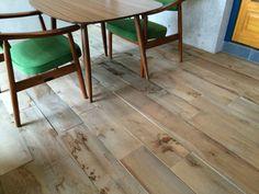 「ワイルドなフローリング材」 - horikenさんのニッシンイクスの床材 - イエナカ手帖