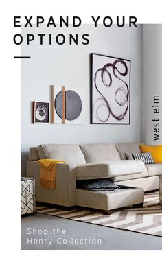 Handcrafted in the USA, the Henry Collection from west elm comes with plenty of sleeper and storage options. Boasting sectionals, sleeper sofas, ottomans and love seats-find the perfect choice for your home today