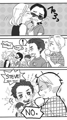 Loki and thor...steve and tony