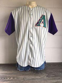 e4895351faa Details about Arizona Diamondbacks D-backs Black #18 Majestic Men's XL MLB  Baseball Jersey