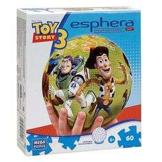 good old puzzle ball. toy story 3 packaging.