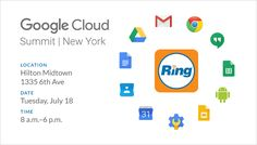 Join us at the @Google Cloud Summit in #NYC on July 18, and explore the latest developments in #cloud #technology! Be sure to book your private RingCentral #demo in advance // #Google #GoogleCloud #Gsuite #GoogleApps #Business #UCaaS