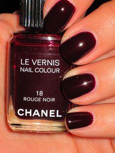 Chanel -- Rouge Noir