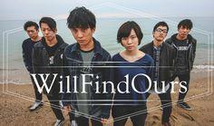 新たに、私がキーボードコーラスを務める、バンド「Will Find Ours」のアー写です。よろしくお願いします。