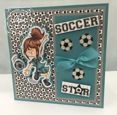 High Hopes Stamps: Sneak Peek Day 3 - Soccer Star by Lora using new Spring 2016 release