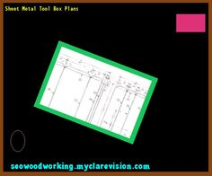 Sheet Metal Tool Box Plans 154741 - Woodworking Plans and Projects!