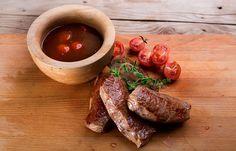 Κόντρα μπριζόλα μοσχαρίσια με σπιτική σάλτσα bbq Steak, French Toast, Bbq, Cooking, Breakfast, Food, Barbecue, Kitchen, Morning Coffee
