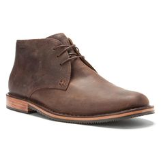 Sold &gt Red Wing Brown Leather Desert Chukka Lace Up Boots - Mens