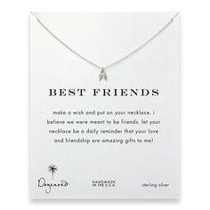 best friends teeny angel wings necklace, sterling silver #dogeared