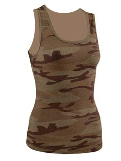 Opentip.com: Kavio J2P0282 Junior Heather Camouflage Boy Beater Tank Slcn Wsh